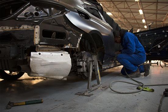 Technicolour | Services | Accident Repair Auto Body Accident Repair
