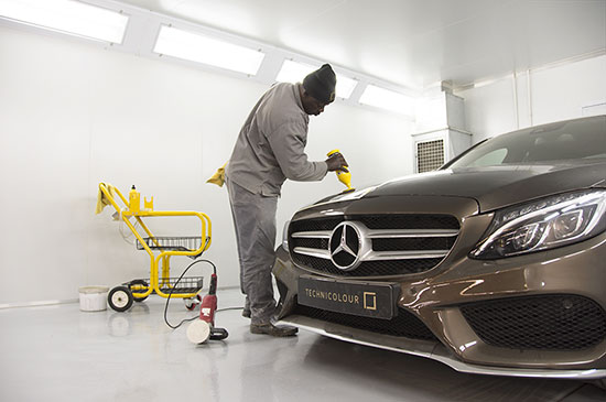 Technicolour Services | Polish | Paint Protection Polish & Headlight Polishing & Detailing