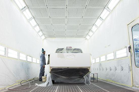 Technicolour Services | Spray Painting | Auto Body Repair Centre